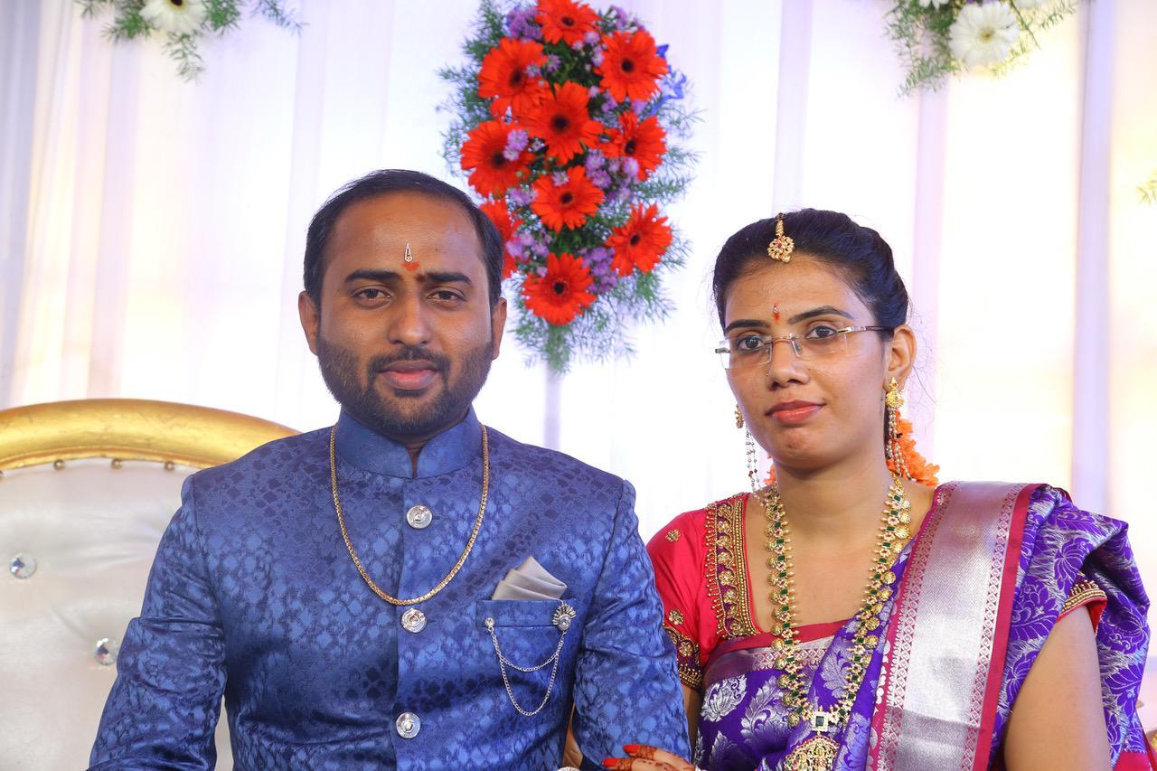 Swetha With Srinivas